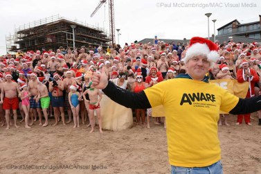 ©Paul McCambridge/MAC Visual Media Santa Splash 2017, Portrush.