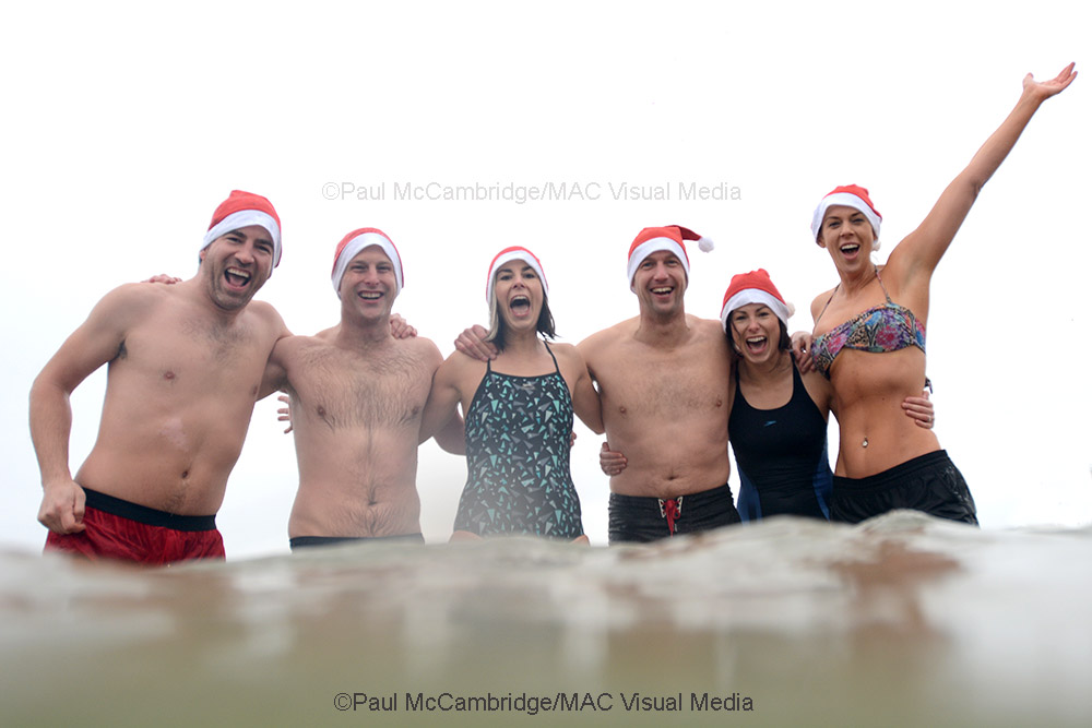 ©Paul McCambridge/MAC Visual MediaSanta Splash 2017, Portrush.