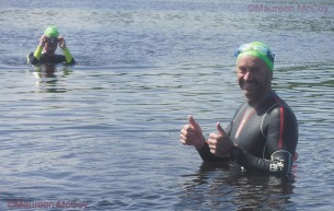 @Paul McCambridge / MAC Visual Media - 14th July 2019 Swim around Devenish Island