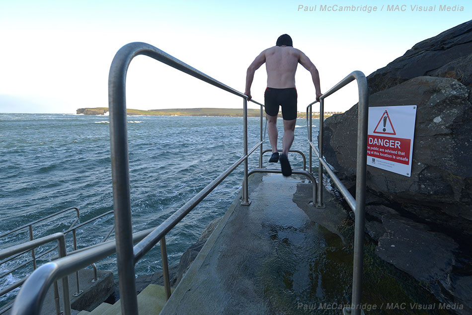 Paul McCambridge - Diving - WIld Swimming in Ireland 02 WM