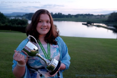 MAC Visual Media - 5th August 2017 Picture by Paul McCambridge Ciara Doran broke the 26th Lough Erne Irish Championship 17k record.