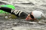 ©Paul McCambridge / MAC Visual Media 07711167277 Couch to 5K swimming program, Lough Erne, Fermanagh.