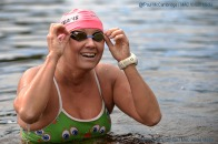 MAC Visual Media - 5th August 2017 Picture by Paul McCambridge Anna-Carin Nordin finishes the 25k race at the 26th Lough Erne Irish Championship held in Enniskillen.