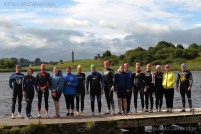 MAC Visual Media - 29th July 2017 Picture by Conleth McCambridge/MAC Visual Media Couch to 5k Swim Challenge, supported by Waterways Ireland. Swimmers prepare to circumnavigate Devenish Island in their penultimate swim before taking part in a 5km swim on Lough Erne.