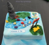 ©Paul McCambridge Couch to 5k Swimming Program Cake made by Johnny Walker